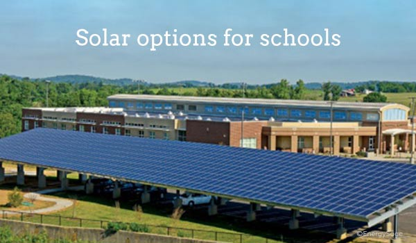 2018 Costs And Benefits Of Solar Panels For Schools