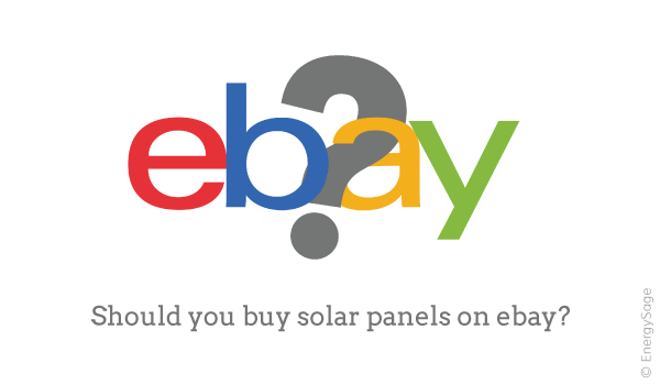 eBay Solar Panel Kits: Should I DIY Solar on eBay? | EnergySage