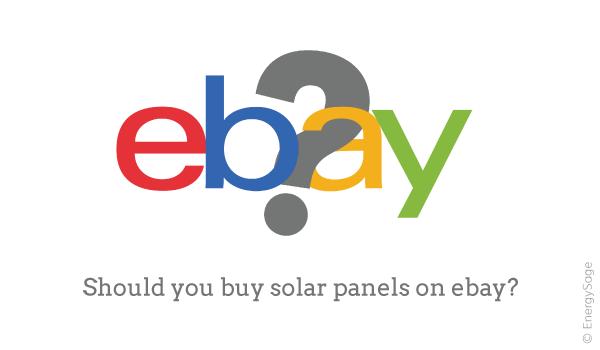 should you buy solar panel kits on ebay
