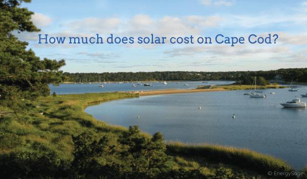 cape cod solar cost