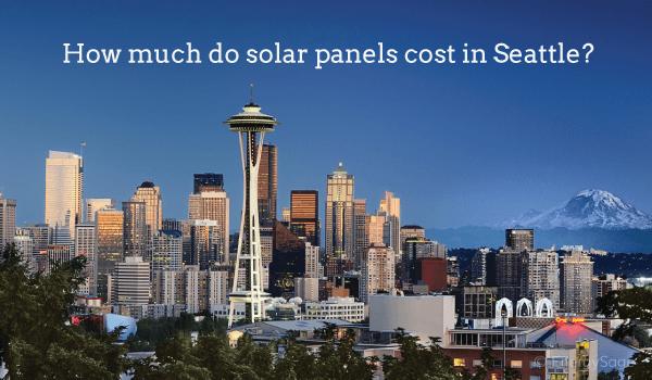 solar panel cost seattle