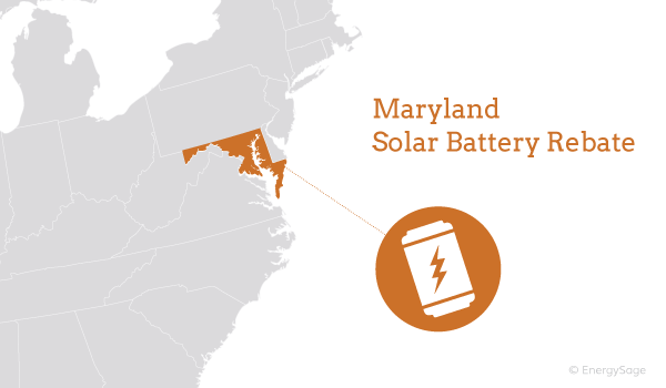 Maryland home battery rebate program explained