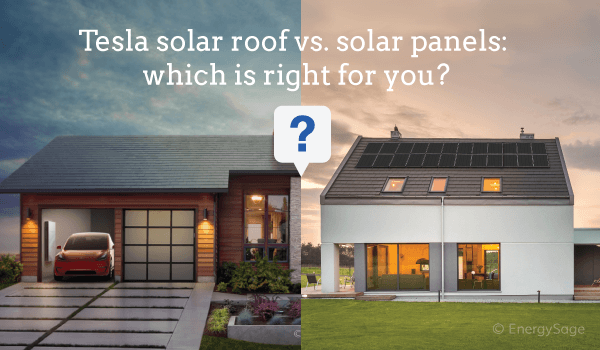 tesla solar roof vs solar panels