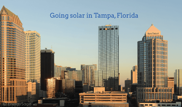 2017 Cost Of Solar Panels In Tampa Florida Energysage