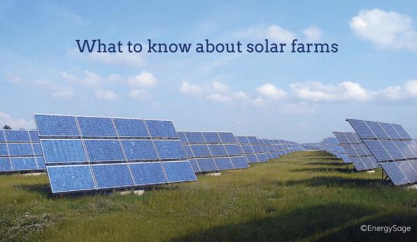 solar panel farms