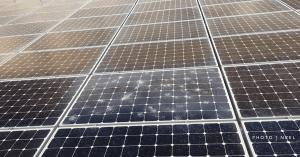solar panels hail