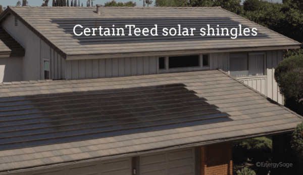 certainteed solar shingles review