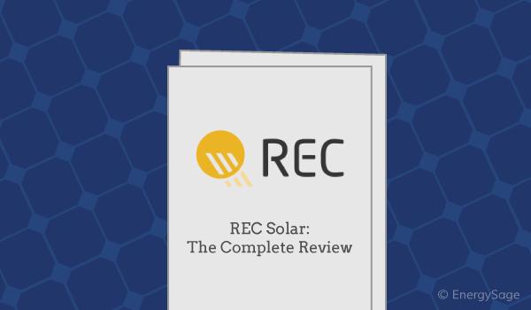 rec solar panel review