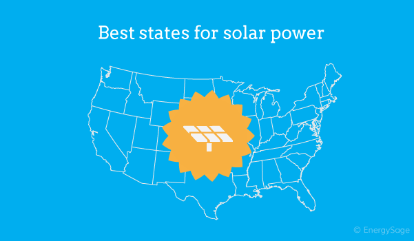 best states for solar power 2017