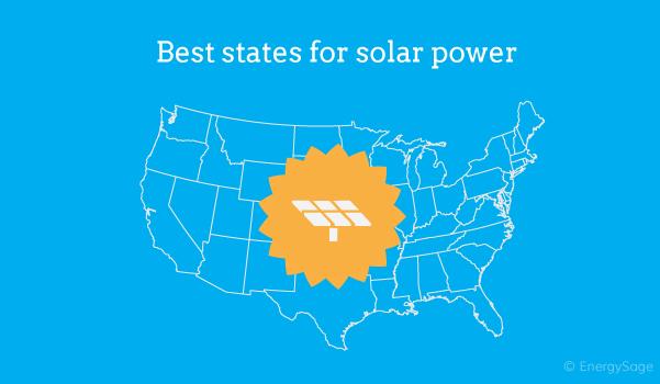 best states for solar power 2017