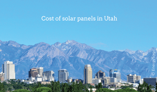 solar panel cost utah 2017
