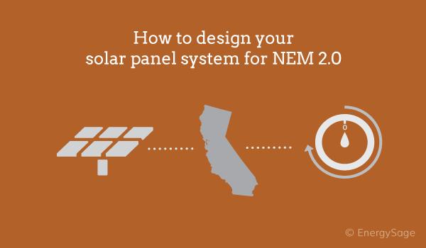 solar panels tou net metering 2.0 california