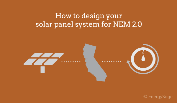 solar panels tou net metering 2.0 california