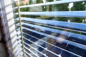 solar panel blinds
