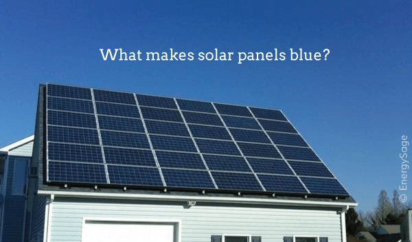 Why Are Solar Panels Blue Vs Black Energysage