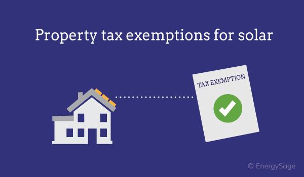 solar property tax exemption