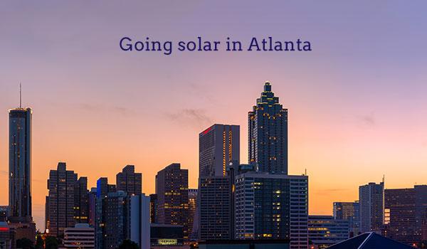 solar panel cost Atlanta