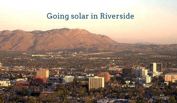 solar panel cost riverside