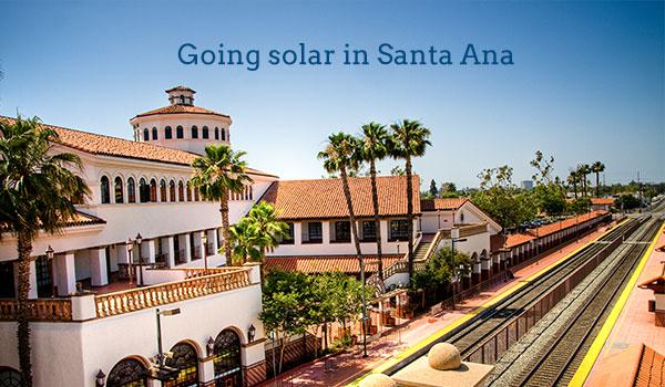 solar panel cost santa ana
