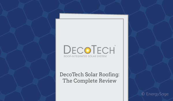 GAF solar decotech roof review