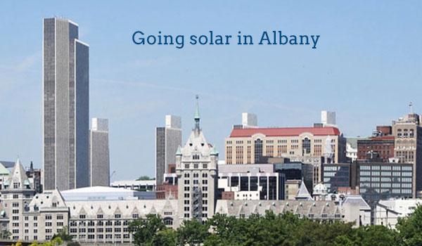 solar panels albany