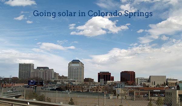 solar panels colorado springs