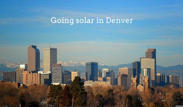 solar panels denver
