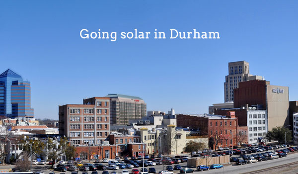 2017 Cost Of Solar Panels In Durham North Carolina