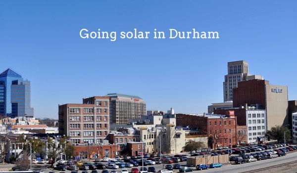 solar panels durham nc