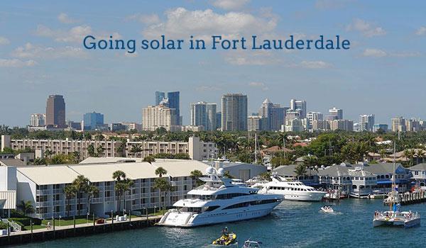 solar panels fort lauderdale