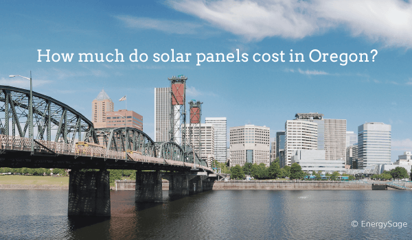 solar panel cost in oregon