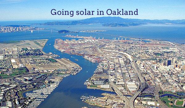 solar panels oakland