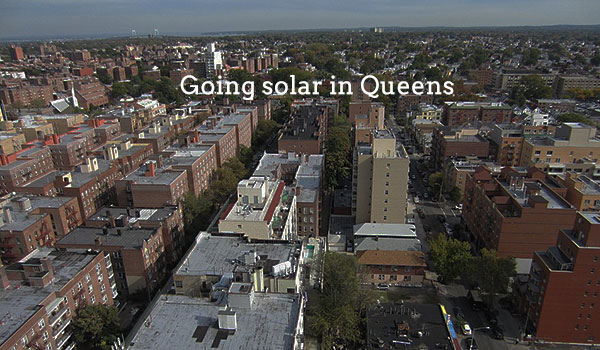 solar panels queens