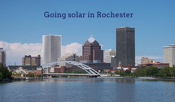 solar panels in rochester ny
