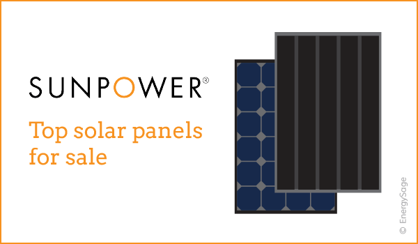 sunpower solar panels for sale 2017