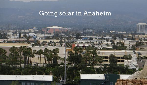 solar panels anaheim