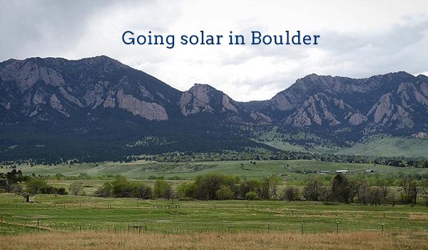 solar panels boulder