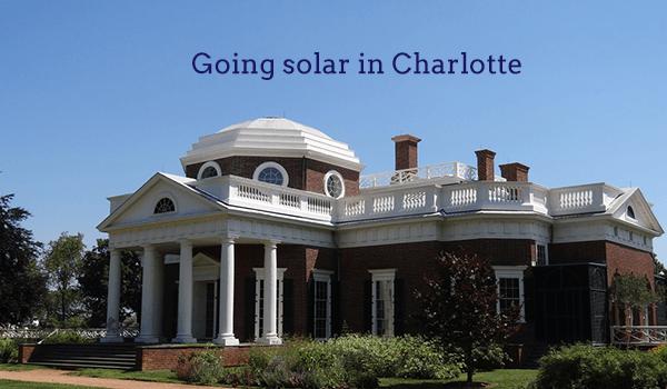 solar panels charlotte nc