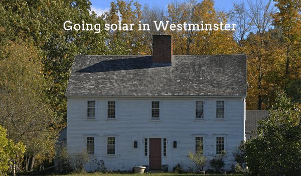 solar panels westminster