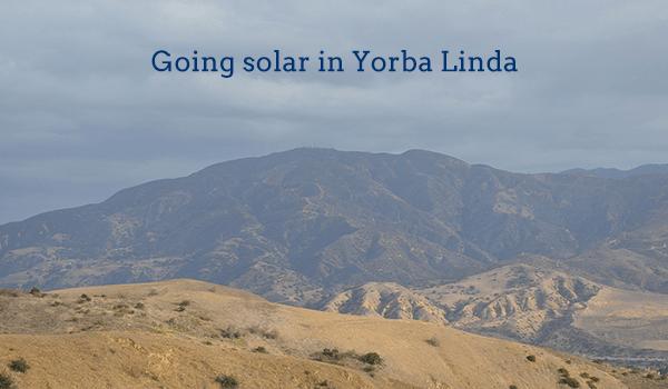 solar panels yorba linda