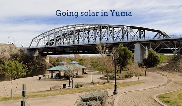 solar panels yuma