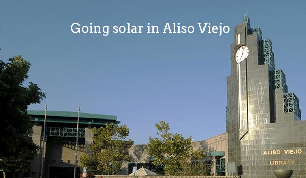 solar panels aliso viejo