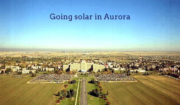 solar panels aurora