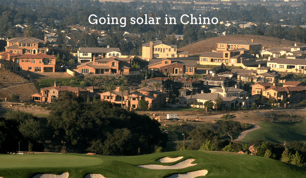 solar panels chino
