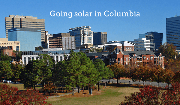 2018 Cost Of Solar Panels In Columbia South Carolina