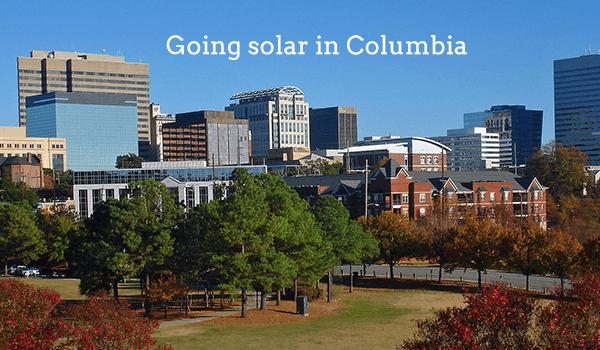 solar panels columbia
