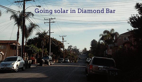 solar panels diamond bar