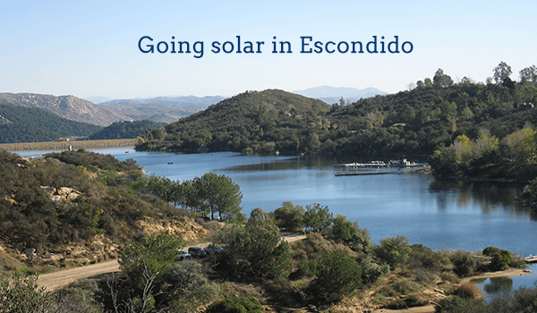 solar panels escondido