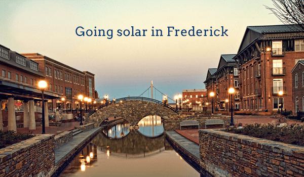 solar panels frederick