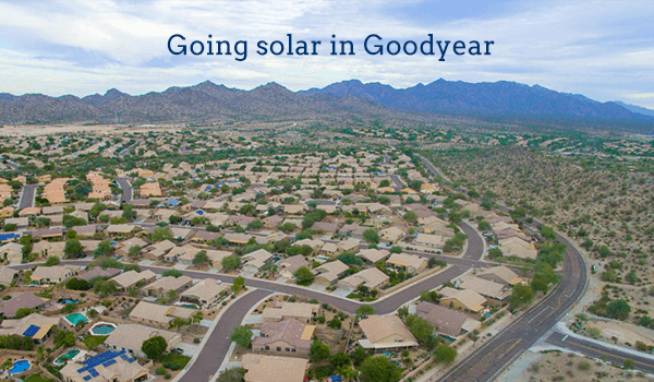 2018 Cost Of Solar Panels In Goodyear Arizona Energysage